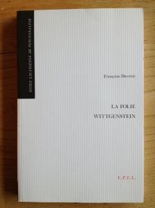 La folie Wittgenstein, édition originale